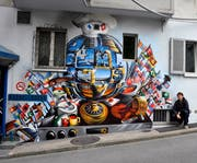 Ezra Pirk 2012 an der Baselstrasse. (Bild: PD)