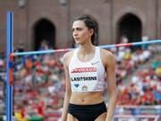 Maria Lasizkene kam für einmal nicht auf Touren (Bild: KEYSTONE/EPA TT NEWS AGENCY/CHRISTINE OLSSON)