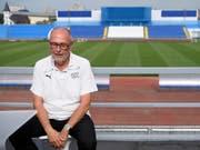 Peter Gilliéron entschuldigte sich im Namen des Verbandes (Bild: KEYSTONE/LAURENT GILLIERON)
