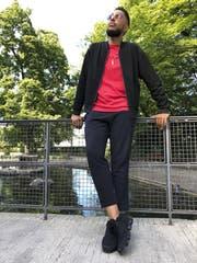 Der US-Rapper Oddisee will Menschen zum Denken anregen. Am Donnerstag trat er am Kulturfestival St. Gallen auf. (Bild: Philipp Bürkler)