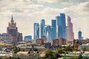 Blick auf Moskau City mit seinen Wolkenkratzern. (Bild: Getty)