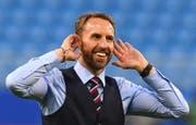 Englands Trainer Gareth Southgate (Bild: EPA/FACUNDO ARRIZABALAGA)