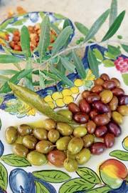 Gute Oliven besitzen ein ausgewogenes Aroma aus salzigen, bitteren und sauren Komponenten.