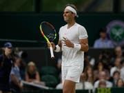 Mit dem Rücken zur Wand: Rafael Nadal (Bild: KEYSTONE/AP/KIRSTY WIGGLESWORTH)