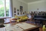 Blick in die Villa Senar in Hertenstein, mit originalgetreuer Einrichtung. (Bild PD)