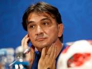 Zlatko Dalic hat mit seinen Kroaten nichts zu verlieren (Bild: KEYSTONE/AP/DARKO BANDIC)