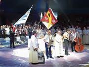 Im Zirkuszelt wurde ein besonderer Gottesdienst gefeiert. (Bild: PD)