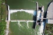 1000 Wasserkraftwerke in der Schweiz müssen saniert werden. (Bild: Benjamin Manser/Urs Bucher)