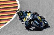 Kommt in der MotoGP-Klasse einfach nicht auf Touren: Tom Lüthi. (Bild: Filip Singer/EPA (Sachsenring, 14. Juli 2017))