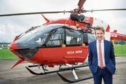 Rega-CEO Ernst Kohler (55) ist seit 12 Jahren an der Spitze der Schweizerischen Rettungsflugwacht. Ermüdungserscheinungen kennt er nicht – auch wenn er nach 35 Jahren Rettungsfliegerei nicht mehr jedem Helikopter nachschaut, wie der vierfache Familienvater sagt. (Bild: Rega)