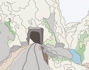 Tunnels verbinden Menschen auf komfortable Weise - und stehen zugleich für soziale Konflikte. (Illustration: Elena Freydl)