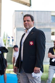 Christian Stofer, Direktor des Schweizer Ruderverbands. Bild: Dominik Wunderli