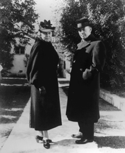 Sergej und und seine Frau Natalia Rachmaninov in den 30-er-Jahren im Garten der Villa Senar. (Bild: Rachmaninov Foundation)