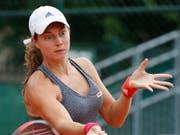 Mit einem weiteren ITF-Turniersieg in ihrem Palmarès reist Stefanie Vögele nach Gstaad (Bild: KEYSTONE/AP/MICHEL EULER)