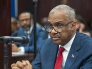 Haitis Ministerpräsident Jack Guy Lafontant ist am Samstag zurückgetreten und kam einer möglichen Amtsenthebung zuvor. (Bild: KEYSTONE/EPA EFE/JEAN MARC HERVE ABELARD)