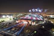 Eines der Stadien in Katar. (Bild: Neville Hopwood/Getty (Doha, 19. Mai 2017))