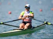 Erster Heimsieg auf dem Rotsee und Triumph im Gesamt-Weltcup für Jeannine Gmelin (Bild: KEYSTONE/GIAN EHRENZELLER)
