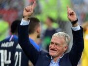 Didier Deschamps ist der Baumeister des französischen WM-Erfolgs (Bild: KEYSTONE/EPA/PETER POWELL)