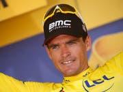 Tour-Leader Greg Van Avermaet verlängerte seinen Vertrag mit BMC (Bild: KEYSTONE/AP/CHRISTOPHE ENA)