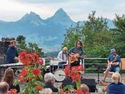 «Troy Tempest» spielte vor einer einzigartigen Bergkulisse. (Bild: PD, Seelisberg, 11. Juli 2018)