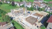 Eines der zwei in Gähwil entstehenden Gebäude soll von einem Schwarm von Investoren finanziert werden. (Bild: PD)