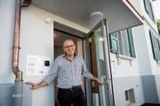 Mit dem neuen Kesb-Standort an der Merkurstrasse 14 ist Andreas Hildebrand sehr zufrieden. (Bild: Ralph Ribi)