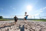 Sportfans kommen auf ihre Kosten, zum Beispiel mit Volleyballspielen. (Bild: PD)
