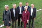 Der Luzerner Stadtrat in corpore. (Bild: PD)