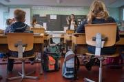 Der Schulbetrieb ist gesichert: Fast alle Lehrer-Stellen im Kanton Luzern konnten besetzt werden. (Bild: Boris Bürgisser (Willisau, 27. März 2018))