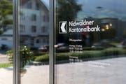 Die Nidwaldner Kantonalbank schloss das erste Halbjahr ähnlich ab wie im Vorjahr. (Bild: Alexandra Wey/Keystone)