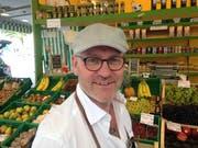 Peter Wetli, Standbetreiber und Sprecher des ständigen Marktes in St.Gallen. (Bild: Reto Voneschen)
