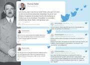 Ein Tweet mit Folgen: Thomas Keller löste mit seinen Äusserungen auf Twitter einen Sturm der Entrüstung aus. (Collage: SGT)
