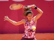 Auch mit 39 Jahren kann Patty Schnyder noch vorzüglich Tennis spielen (Bild: KEYSTONE/ANTHONY ANEX)
