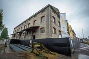 Im SBB-Lagerhaus am Wasser sollen unter anderem Museen ihren Platz finden und Wohnungen entstehen. (Bild: Reto Martin)
