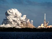 Tiefere Kosten, weniger Gewicht, höhere Steifigkeit: 3-D-Druck bietet laut den beteiligten Firmen Vorteile auch für die Raumfahrt. (Bild: KEYSTONE/EPA/CRISTOBAL HERRERA)