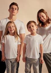 Die kompostierbaren T-Shirts von Calida. (Bild: PD)