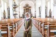 Christine Demel führt ein Leben für Gott – als geweihte Jungfrau. (Bild: Roger Gruetter (Willisau, 12. Juli 2018))