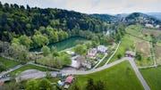 Der Vorfall ereignete sich bei den Drei Weieren in St.Gallen. (Bild: Michel Canonica/Hanspeter Schiess)