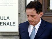 Im April 2011 stand Oskar Holenweger vor dem Bundesstrafgericht in Bellinzona, das ihn vollumfänglich freisprach. (Bild: KEYSTONE/KARL MATHIS)