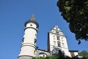 Das Schloss Liebenfels ist heute noch gut in Schuss.