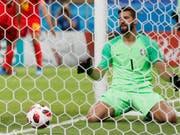 Brasiliens Torhüter Alisson steht vor dem Wechsel nach Liverpool (Bild: KEYSTONE/AP/FRANK AUGSTEIN)