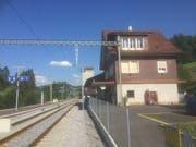 Mogelsberg ist die am schwächsten genutzte Bahn-Haltestelle im Toggenburg. (Bild: Martin Knoepfel)
