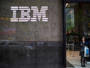 Gute Geschäfte dank Sicherheitssoftware und Cloud-Computing: der IT-Dienstleister IBM. (Bild: KEYSTONE/AP/MARY ALTAFFER)