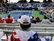 Erneut ein Rekord-Preisgeld: Am US Open gibt es für die Tennisprofis um 53 Millionen Dollar (Bild: KEYSTONE/AP/JULIO CORTEZ)