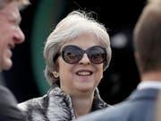 Die britische Premierministerin Theresa May kann einen weiteren Sieg bei der Umsetzung ihrer Brexit-Strategie verzeichnen. (Bild: KEYSTONE/AP/MATT DUNHAM)