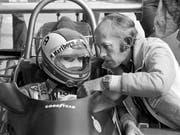 Mo Nunn mit dem ehemaligen Schweizer Formel-1-Star Clay Regazzoni (Bild: KEYSTONE/STR)