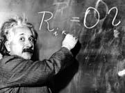 Hatte einen guten «Lauf»: Albert Einstein verfasste 1905 innert weniger Monaten gleich drei Arbeiten, die die Physik revolutionierten. (Bild: KEYSTONE/AP/STR)