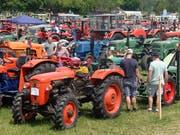 Deutschschweizer lieben ihre Traktoren. (Bild: SGT)