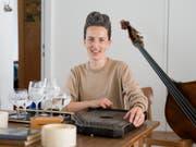 Die Künstlerin Anna Trauffer arbeitet in den Bereichen Musiktheater, Improvisation und Performance. Sie lebt in Zürich. (Bild: Keystone/GAETAN BALLY)