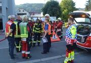 Rund 40 Angehörige der Feuerwehren Ebikon-Dierikon und Buchrain standen im Einsatz. (Bild: Luzerner Polizei (Ebikon, 19. Juli 2018))